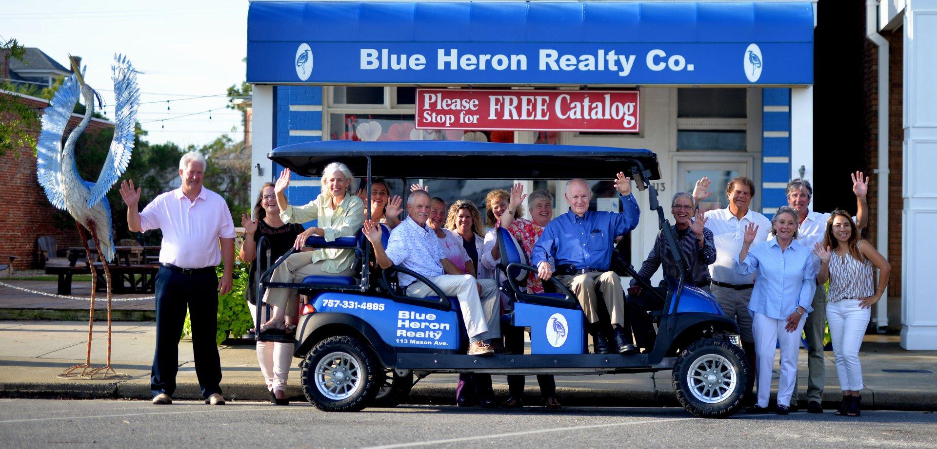 Blue Heron Team Photo