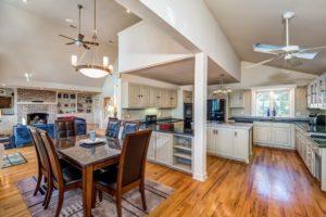 mermaid cottage kitchen